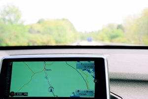 Navigation system, GPS in a car